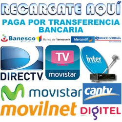 Recargas TV SATELITAL
